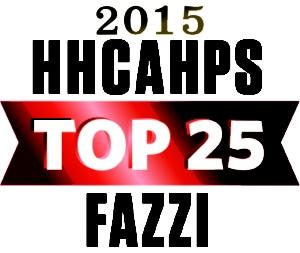Fazzi Associates Top 25 award 2015