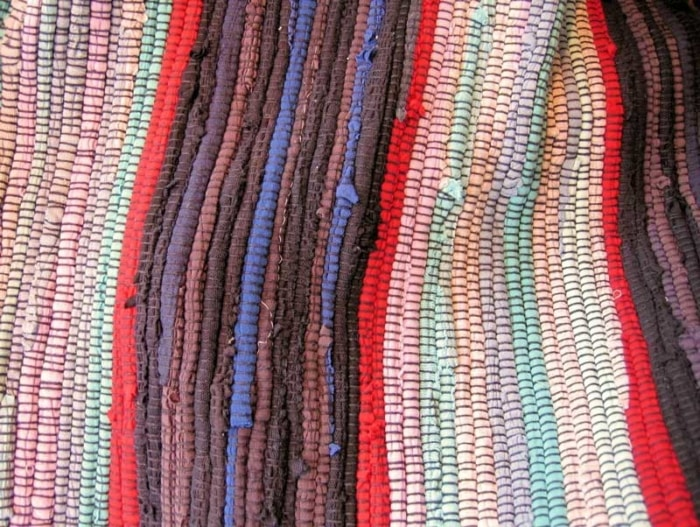 colourful knitwear
