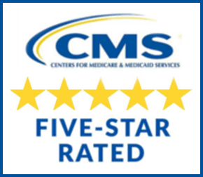 CMS five-star rated