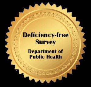 deficiency free survey