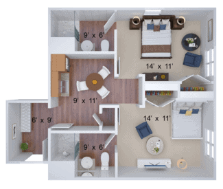 suite housing floor plan