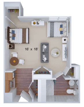 companion housing floor plan