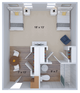 companion housing floor plan