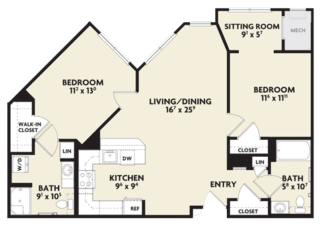 magnolia housing floor plan