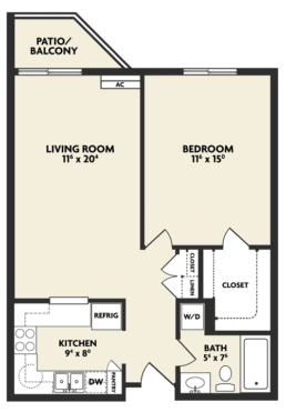f housing floor plan