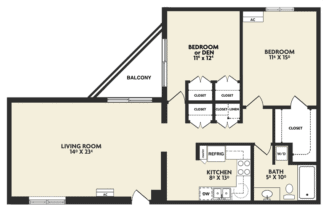 m housing floor plan