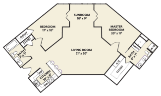 n housing floor plan