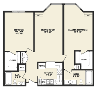 p2 housing floor plan