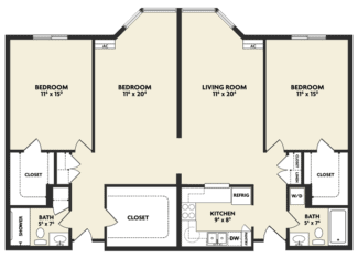 t housing floor plan