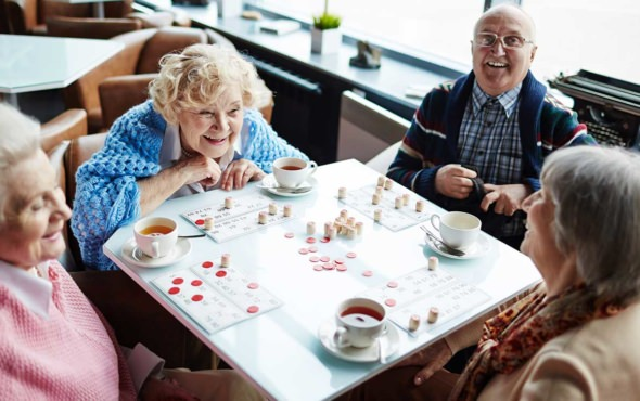 Participate and make friends at Salmon Health and Retirement's Whitney Place community.