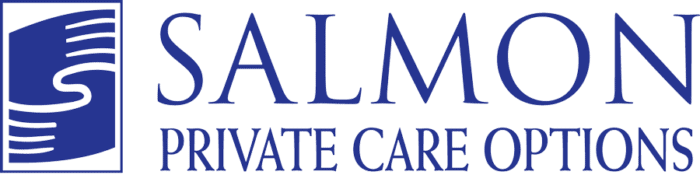 Salmon Private Care Options Logo