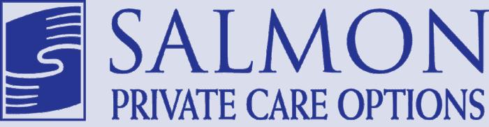Salmon Private Care Options Logo